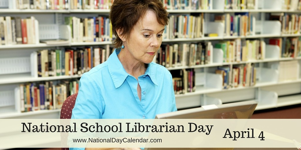 April 4 is National School Librarian Day | Greenbriar LFL